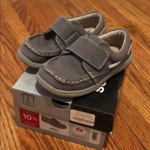 See Lao run Milton gray canvas shoes 10.5
